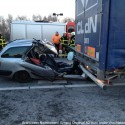 Ongeval A2 Vrachtoauto-Auto 076
