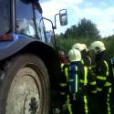 Tractor brand Nederweert-eind