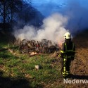 Buitenbrandje op Hulsen Nederweerrt